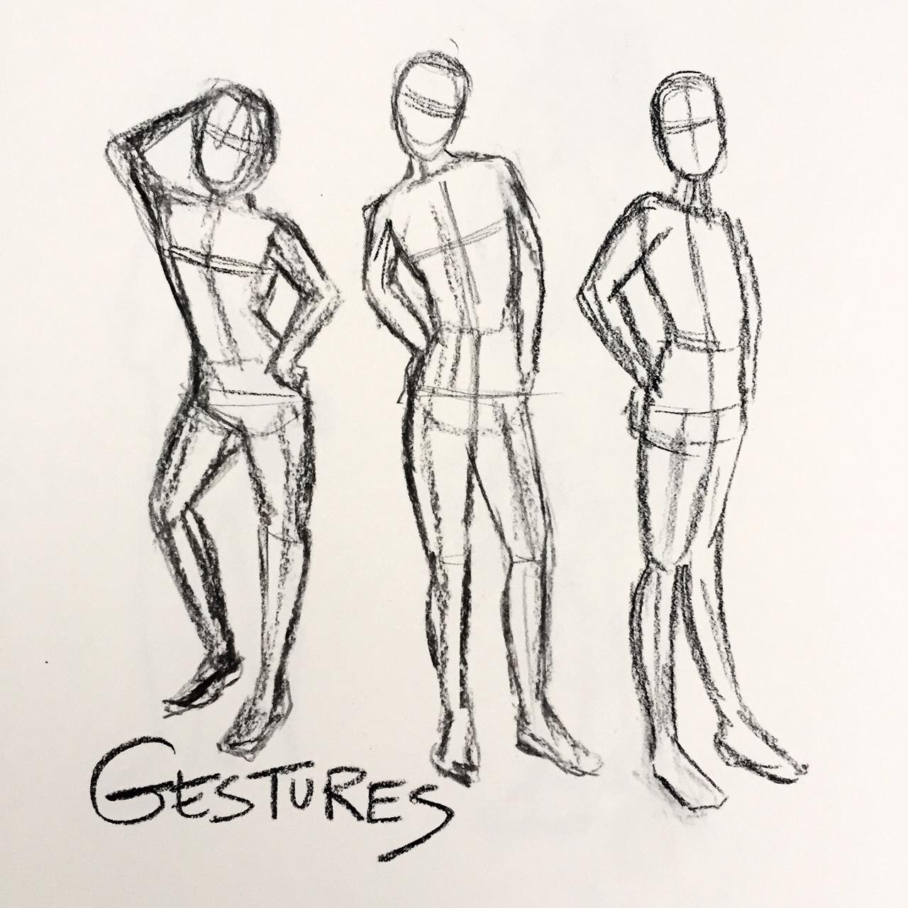 Art 1 Wire Gesture Sculptures Lessons Tes Teach